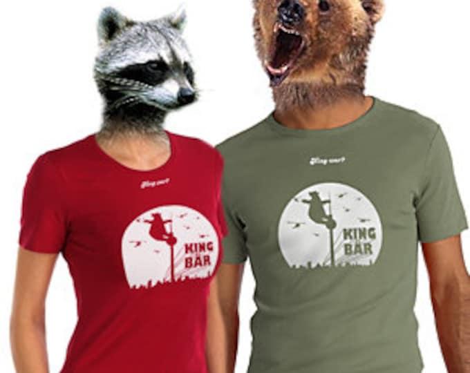 """King Bear-shirt (M/w) with Berlin-motif/""""fairWear"""" Certified"""
