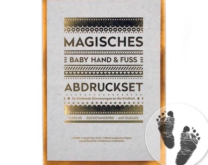 small MAGIC Baby Imprint Set - Clean, Safe