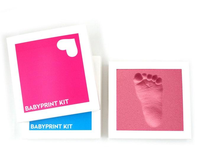 BABYPRINT KIT · in medical memory foam. quick & dafe