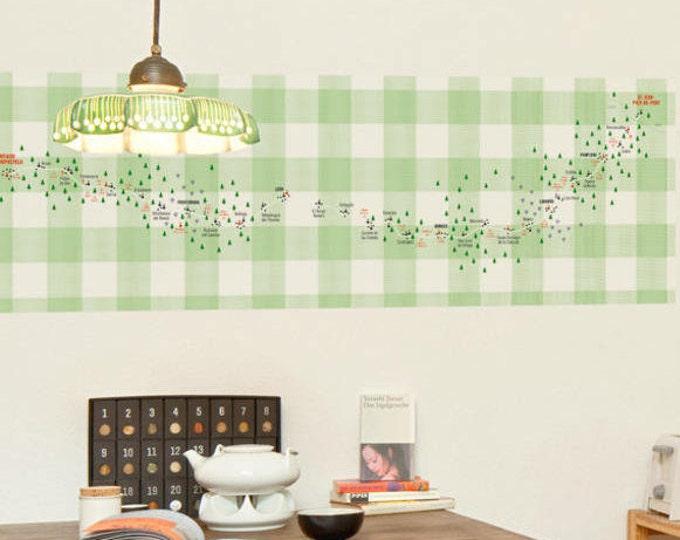Picture wallpaper motif: JAKOBSWEG, self-adhesive, (150 x 50 cm) designer wallpaper (photo wallpaper) for wall decoration