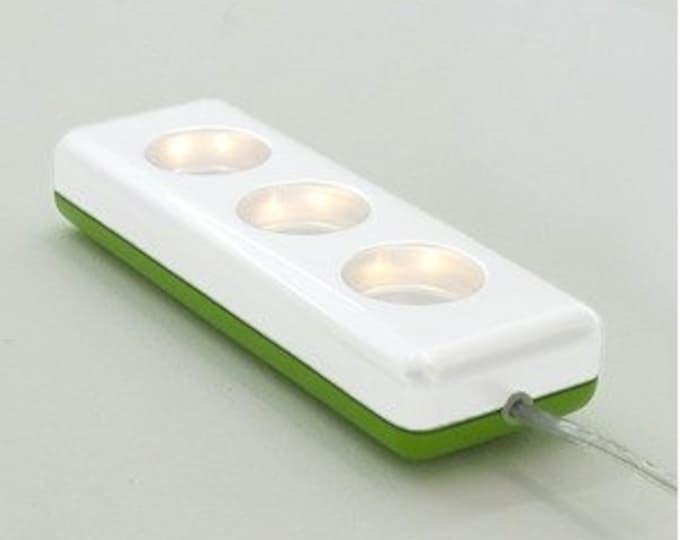 Socket light lamp in the multiple socket