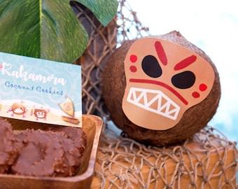 Moana Inspired Kakamora Coconut Face Instant Download