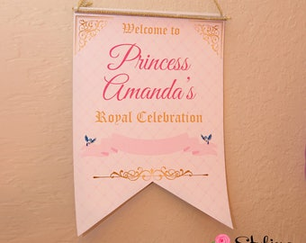 Personalized Welcome Sign - Printable