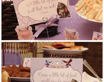 Sofia the First Table Signs