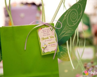 Tinkerbell Inspired Favor Tags