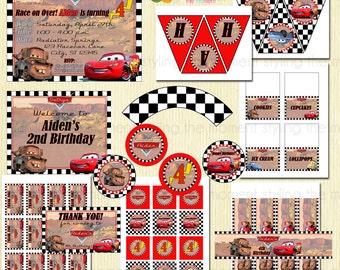 Disney Cars Printable Set