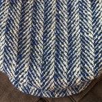 "FIVE POINTS Flat Cap in Vintage French Herringbone Wool Tweed - 7 3/8"" (59) - Hold for CF"