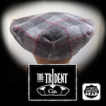 THE TRIDENT - 1920's-Pattern 8-Dart Cap with three Inverted Rear Darts - Made to Order