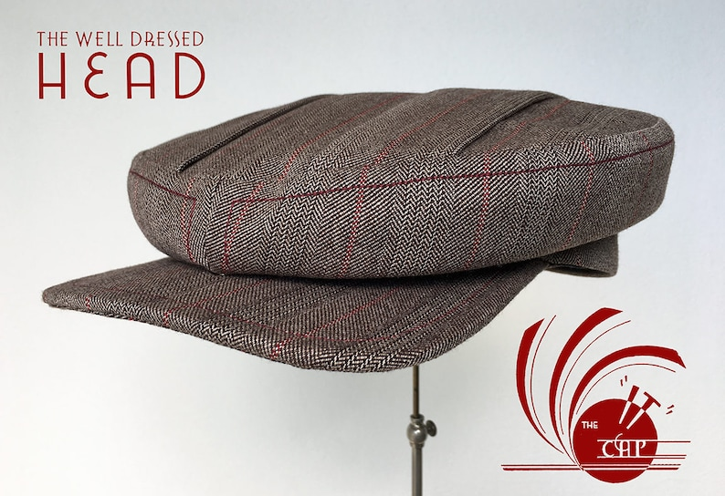 The IT Cap  1910s / 1920's Style Flat Cap image 0