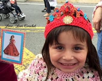 Disney Elena of Avalor, tiara, Elena of Avalor costume, Elena of Avalor Tiara, princess tiara, princess crown, Birthday crown