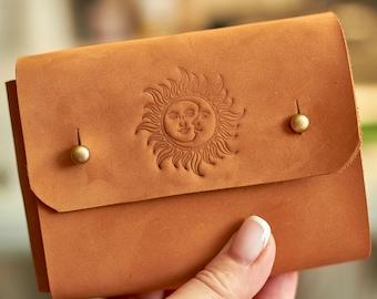 Tarot Card Box Tarot Bag Tarot Card Bag Gemstone Tarot Card Case Tarot Box Hand Embroidered Tarot Pouch Tarot Pouch Gemmy Tarot Case