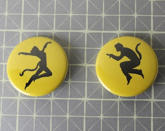 Jellicle Cats Musical Pins (Pinback Buttons) OR Magnets