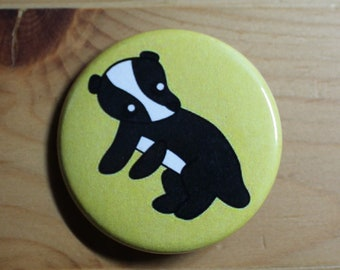 Hufflepuff Baby Badger - Pinback Button