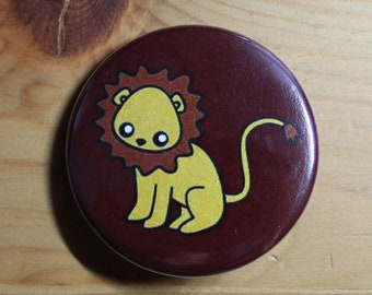 Gryffindor Baby Lion - Pinback Button