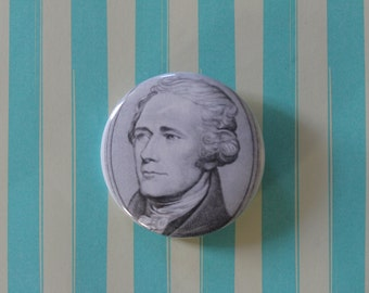 Alaxander Hamilton - Pinback Button