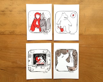 Little Red Postcards