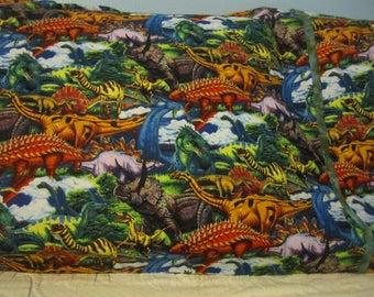 Realistic Dinosaurs/matching cuff/pillowcase
