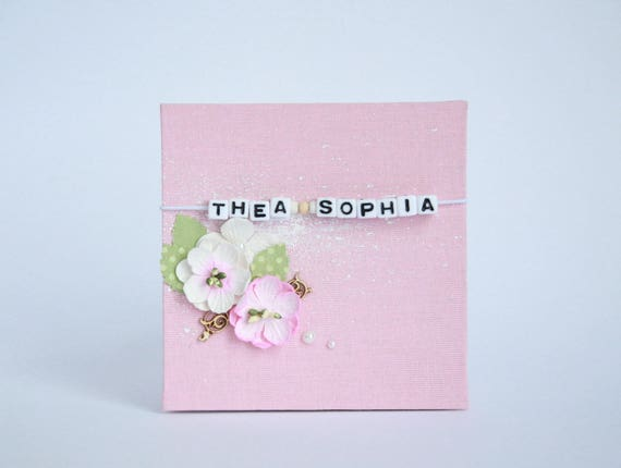 Baby Girl Photo Book Personalized Baby Girl Photo Album Custom Etsy