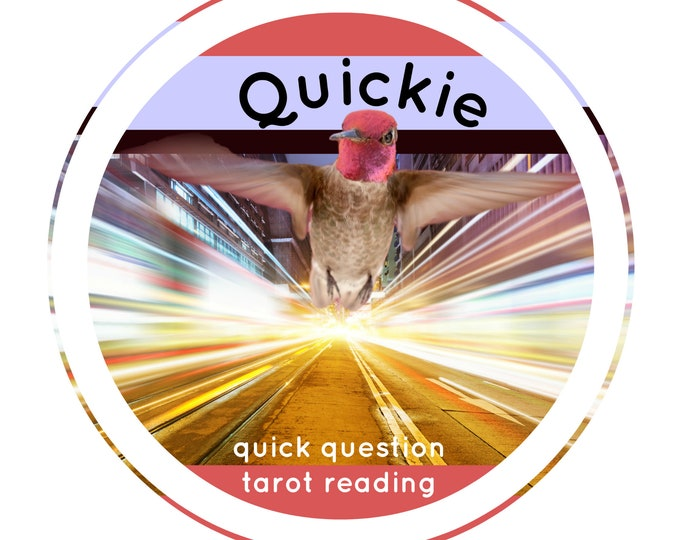 QUICKIE >< quick question tarot reading >< answers within eleven hours
