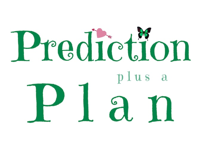 Prediction Plus a Plan >< Intuition Session, Tarot Reading, Mentoring, Psychic advice