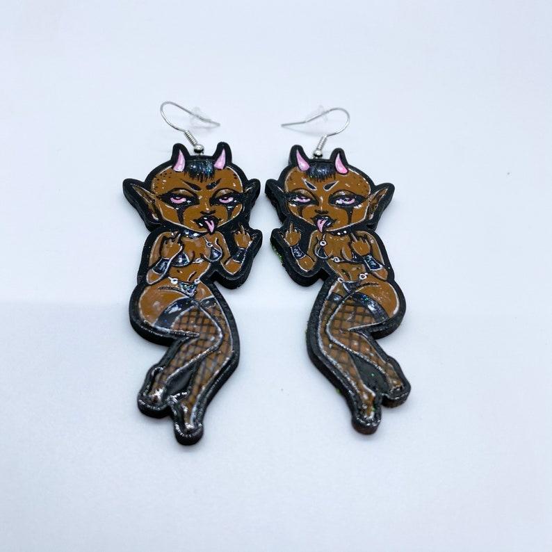 Demon Earrings