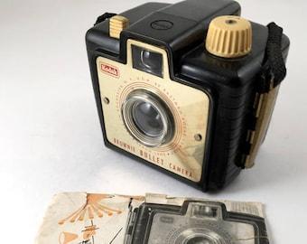 Kodak Brownie Bullet Camera with original manual