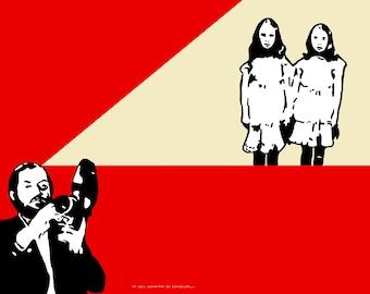 "Stanley Kubrick ""The Shining"" Art Print The Shining Twins"