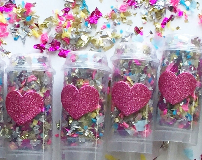 Heart Confetti Popper - Party Favors