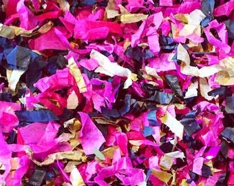 Flamingo Confetti Mix / Fuchsia, Black, Gold