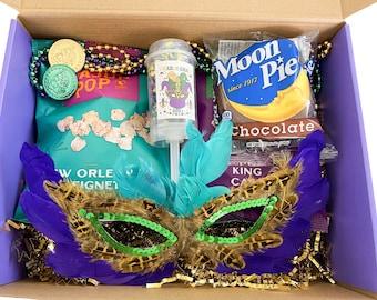 Mardi Gras / Mardi Gras Kit / Mardi Gras Party / Mardi Gras Theme / Mardi Gras 2021 / Mardi Gras Birthday / Mardi Gras Gift / Mardi Gras Box