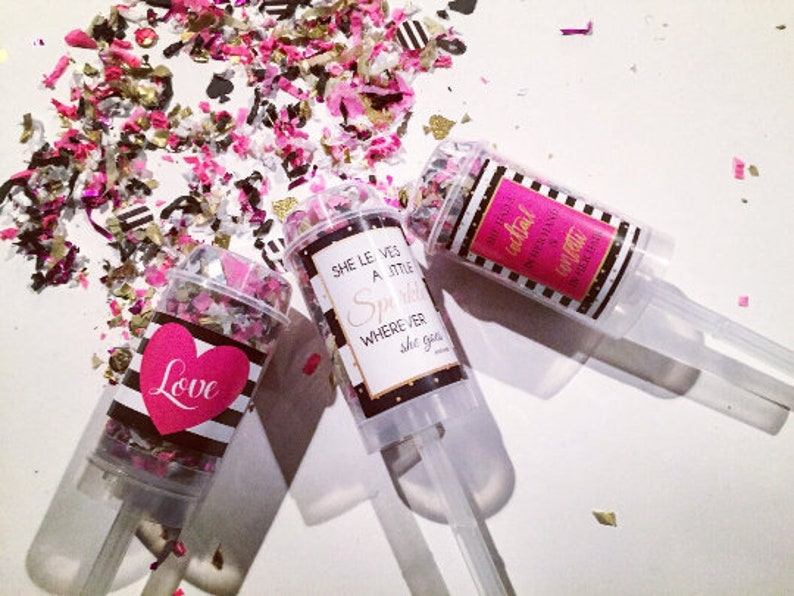 KATE SPADE  Combo Pack Confetti Poppers / Party Favors / image 0