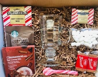 Christmas / Hot Cocoa Gift Set / Hot Cocoa / Hot Cocoa Mug / Hot Cocoa Kit / Hot Cocoa Set / Hot Chocolate Kit / Cocoa Gift Kit / Cocoa Box