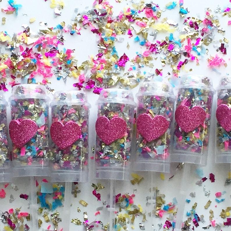 Heart Confetti Popper  Party Favors image 0