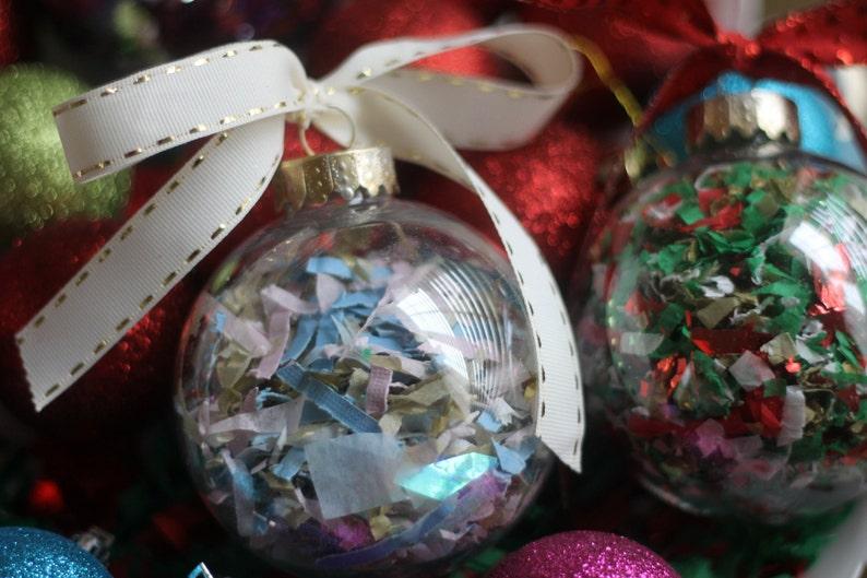 Christmas Confetti Ornament  Large image 0
