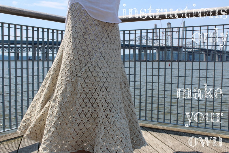 INSTRUCTIONS ONLY  Crochet your own Comfort Skirt in image 0