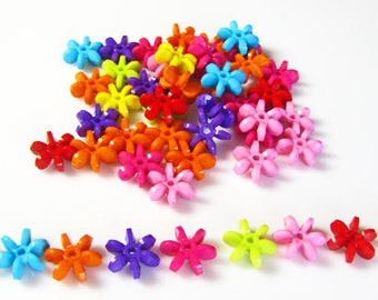 Pinwheels, large, acrylic multi color assortment, 30 pieces