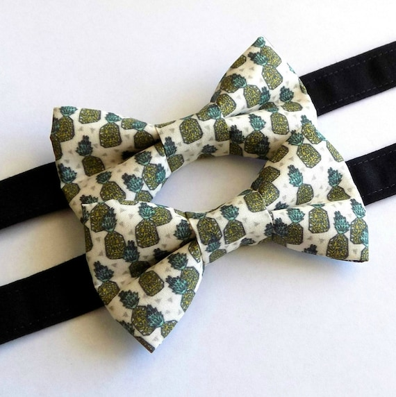 Juicy Pineapple Bow Tie