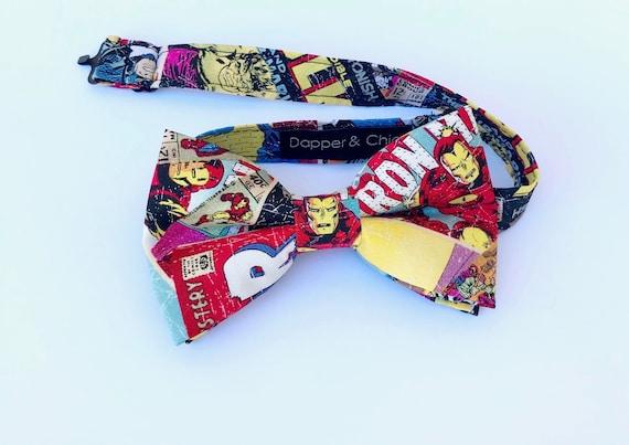 Iron Man Superhero Bow Tie