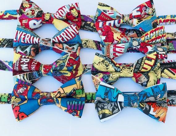 Superhero Bow Ties