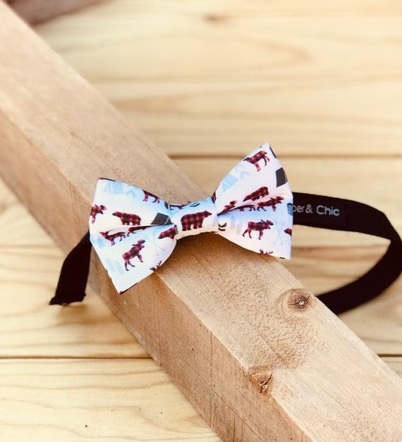 Lumberjack Camping Bow Tie