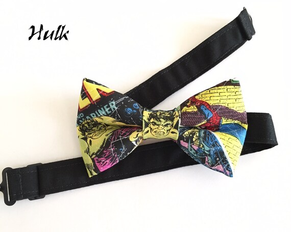 The HULK Comic Book Superhero Bow Tie