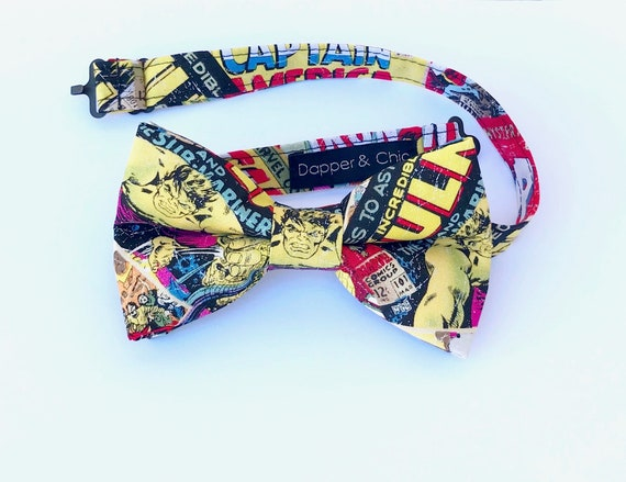 The HULK Comic Book Superhero Bow Tie