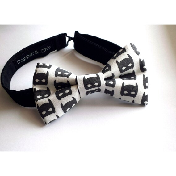 Superhero Mask Bow Tie