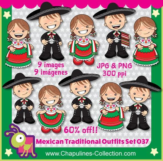 60 Desc Trajes Mexicanos Niños China Poblana Y Charro Independencia De México Revolución Mexicana 5 De Mayo 037