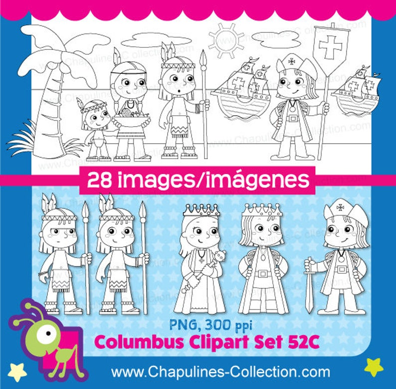 60 Off Columbus Clipart Black And White The Discovery Of Etsy