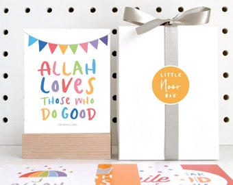 The Little Noor Box, Islamic Quotes and Reminders for Muslim Kids