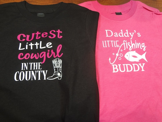Sweatshirts Tee Shirt In Prink Daddys Future Fishing Buddy T Shirt