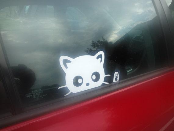 Mini Paw Prints Car SUV Truck Minivan Decal Sticker Window Cute Dog or Cat Lover