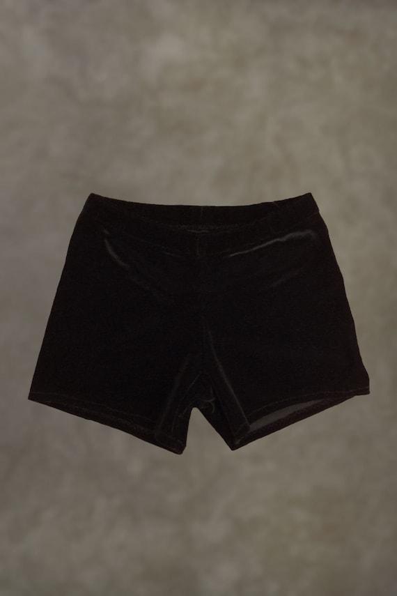 58077d817 Velvet Gymnastics Dance Shorts Yoga Shorts Cheer Shorts