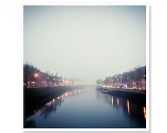 Dublin Art Print, Dublin Photograph, Irish Gift, Made In Ireland, Ha'Penny bridge, Ireland Photography, Irish Gift, River Liffey
